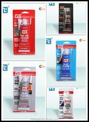 China wholesale good oil resistance and high temperature RTV Silicone gasket maker/ Silicone sealant adhesive with high quality