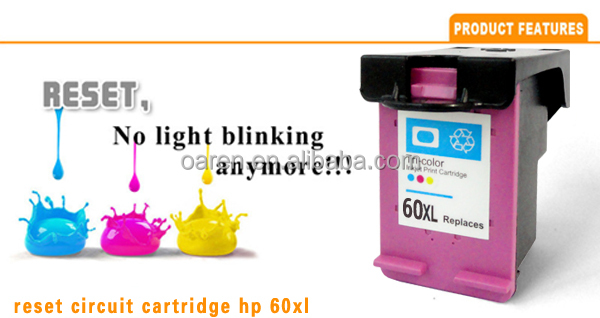 compatible ink cartridge for HP 60 XL CC643W ink cartridges cartuchos de tinta