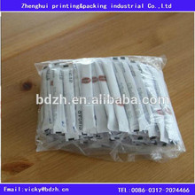 Best price paper backed polyester film for sugar stick packaging,FDA certificate