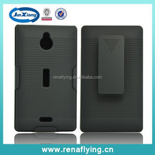 2014 hot selling mobile phone accessories belt clip holster for nokia x2