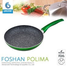 Oil free induction non-stick induction diamond coating frying pan