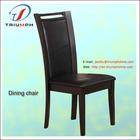 novas cadeiras de jantar estilo baratos de madeira com couro PU + (ANSI) espuma