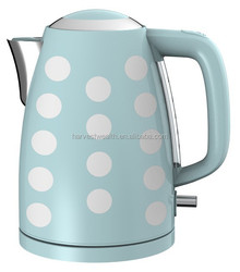 Stylish 1.7 Liter Stainless Steel Cordless Jug Kettle - City Skyline
