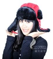 CX-C-152 Faux Fur Fashion Russia Winter Hat Girls