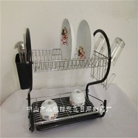 2sharp design powder plated DR167 metal kitchen dish rack