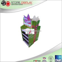Full Size Pallet Display for Nike Shoes / Corrugated Cardboard Display Stand for WWS