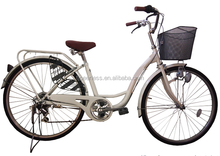 26 inch China factory manufacture ladies city bike