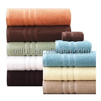 China Supplier 100% Cotton Colored Custom Towel/ Dobby Towel/ Towel Sets