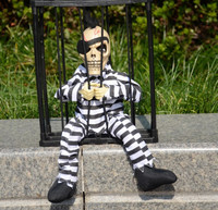 Halloween toys, electric plush scary horror, ghosts could talk cage Aberdeen