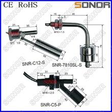 Interruptor de flotador magnético/interruptor de flotador horizontal