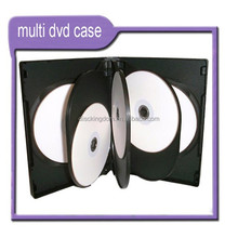DVD amaray case for packing 2 to 10 pieces dvd movies