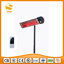 light infrared heater with ruby lamp bedroom and patio220V