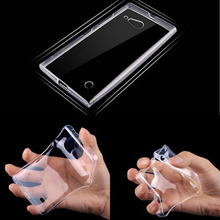 0.3mm Ultra thin Perfect Design Clear Crystal Transparent TPU Gel Soft Cover Case For Nokia Lumia 730 735 High Quality