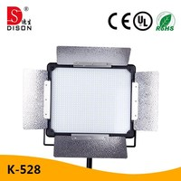 Dison professional video production 40W LED studio light factory direct with color temperature plate
