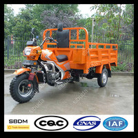SBDM Motorized Petrol Engine Piaggio Cargo Tricycle
