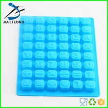 Cake decorations letter and numbers silicone mold