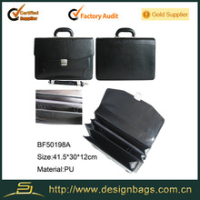 Good quality leather office briefcase bags