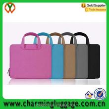 tote neoprene laptop bag/custom printed neoprene laptop sleeve wholesale