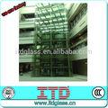 Itd-sf-fgm109 templado de vidrio de las paredes