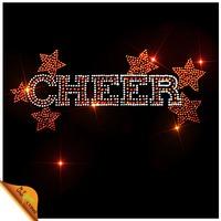 Star Cheer Korean Hot-fix Rhinestone Transfer