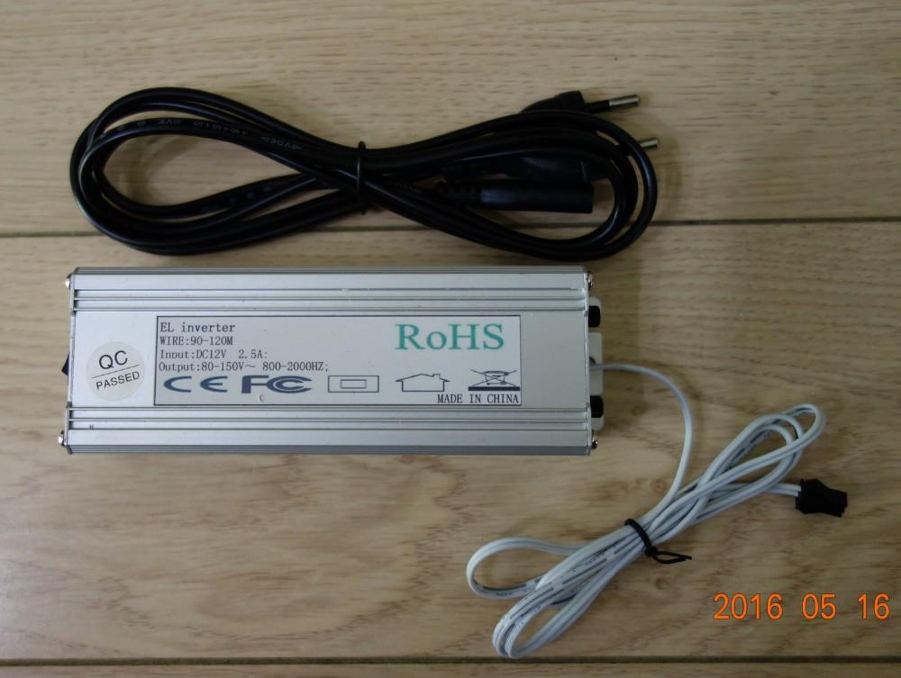 Wy-eli-ibf-90m-120m Ac110v-220v El Wire Inverter / 90-120m El Wire ...