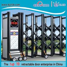 Automatizados principais ligas de metal gate modelos de portas de alumínio