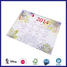 2015 2014 Islamic 3 Month Wall Promotional Calendar