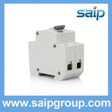 Saipwell DC/AC single earth leakage 2 pole earth leakage circuit breaker