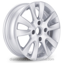 "quality and cheap price 17"" chrome alloy wheels for car(ZW-HT155058)"