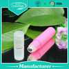 Used pink plastic containers bottle of perfume