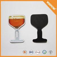 15-00115 Beauty products fridge magnet flexible souvenir customize plastic blank eva fridge magnet