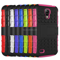 Factory Wholesale Spider Hybrid Silicone PC Combo Kickstand Back Case Cover for Samsung Galaxy S4 I9500,50pcs/lot Free shipping