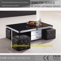 Super quality stylish solid wood slab coffee tables