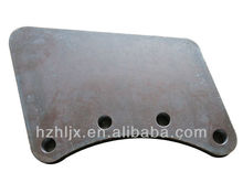 OEM manufacturer and ISO 9001 high quality custom sheet metal famous cutting steel parts fabricaton job