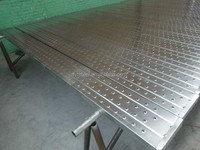 steel Scaffolding Planks With Perforated Design In Layher T4 Style