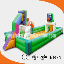 Inflatable sports-- inflatable basketball field/ inflatable basket ball court SP-034
