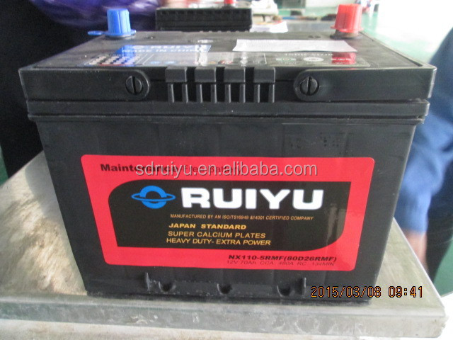 Importação barata produtos selado cálcio cálcio bateria de carro a granel comprar da china