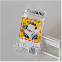 Clear plastic box mobile phone accessories packaging