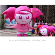 Inflatable cartoon lively girl