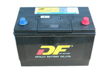 12V wet charged battery NX120-7LMF