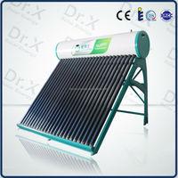 Sun Power Compact Low Pressure Vacuum Tube Solar Hot Water Heater
