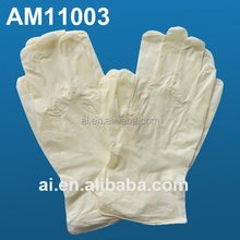 stretch/synthetic gloves vinyl with high tensile strength for medical/beauty salon