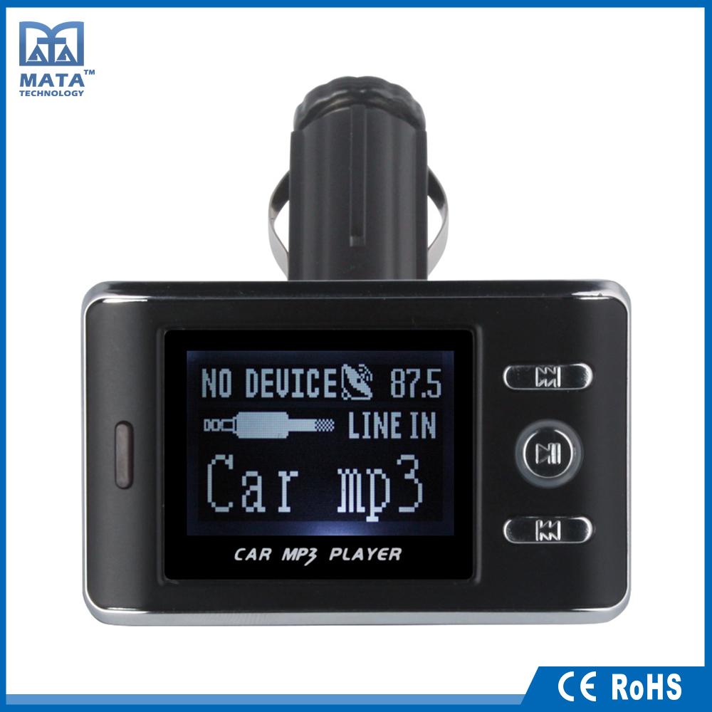 تعليمات منخفض الطاقة سيارة usb مشغل mp3 fm الارسال