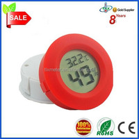 lcd Display Car Digital Thermometer Round and Decorative
