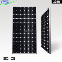 PWG High Efficiency PV Soalr Panel Kit for 1000 Watt Solar Panel System