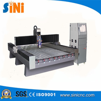 Cnc marble engraving machine price for agent /cnc carving marble granite stone machine