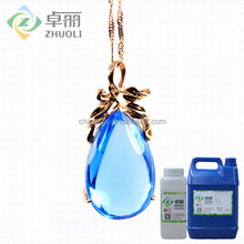 Transparent liquid epoxy resin bonding glue/adhesive