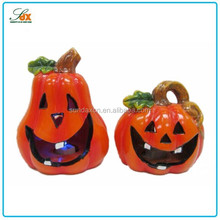 New product halloween pumpkin figurine/resin pumpkin for halloween