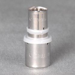 high quality copper press fitting union for pex al pex composite pipe