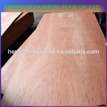 Bintangor madera de la capa de hoja/madera contrachapada comercial 9mm para el mercado de méxico
